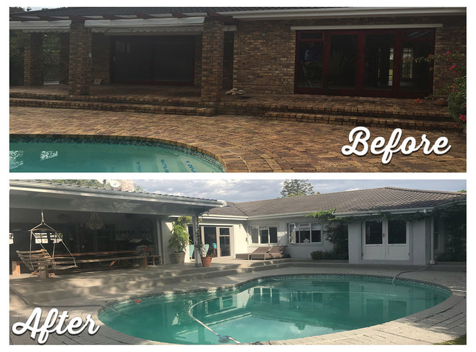 Pool area make over