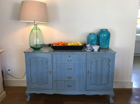 Vintage Sideboard - painted blue