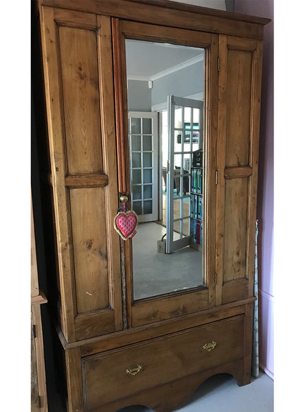 Second hand Solid Oak Wardrobe