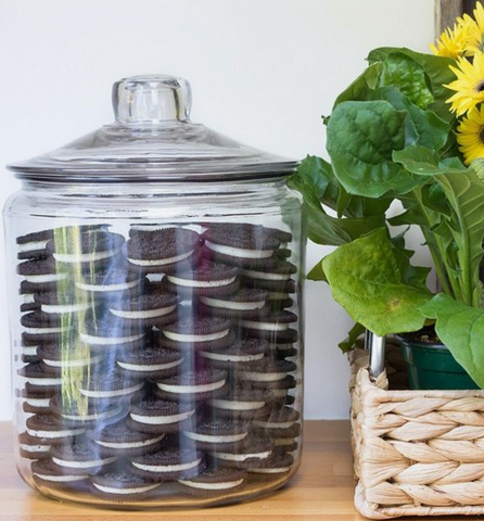 Large glass jar displaying Oreo cookies next to a woven basket with a pot plant in it. Interior design blog about our tips on bringing your kitchen to life without spending too much money. Written by vintage-etc in Cape Town. We make custom made & bespoke tables, benches, free-standing kitchen islands, desks, media units & wardrobes in our Cape Town & Johannesburg workshops – using Oak, Oregon, Ash, Beech, Birch Ply & Meranti. We also sell imported furniture, provide design consulting services & make soft furnishings e.g. sofas & upholstered chairs in linen, velvet & stain resistant fabric.