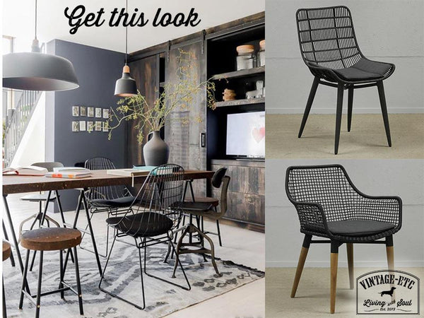 Scandi look with these dining chair