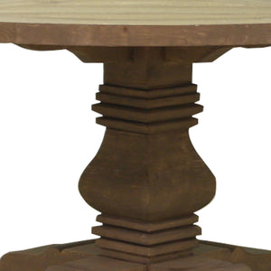 Benjaman Round Dining Table close up