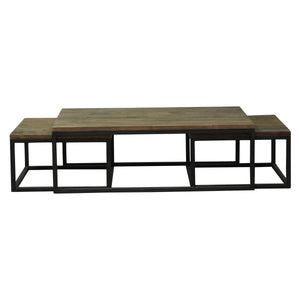 Nesting Coffee Table nested