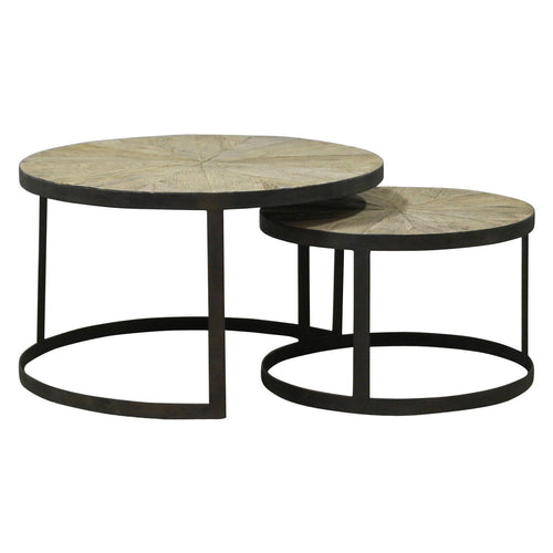 Nesting Side Tables Nested