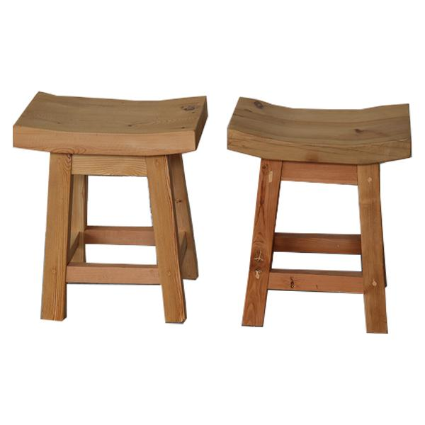 Small Natural Butt Style Stool