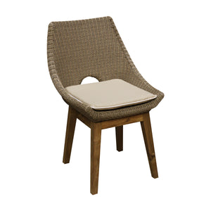 Angie dining chair & cushion front