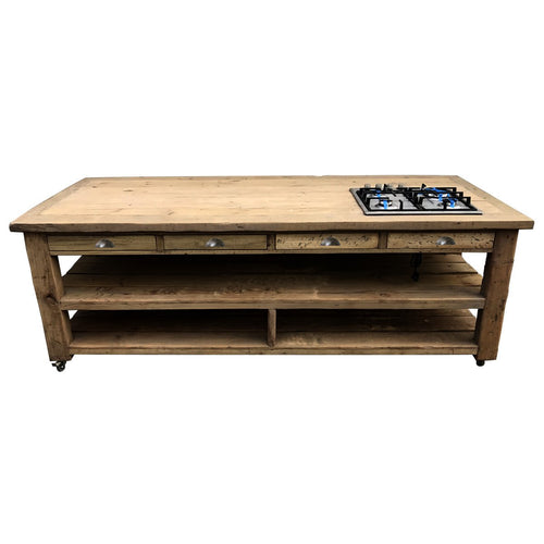 Hampton Handmade kitchen Island