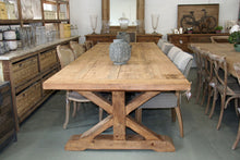Farmhouse 12 Seater Table with cross legs