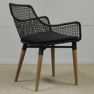 Geometric Dining Chair side