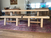 Straight Leg 70mm Solid Oak Table