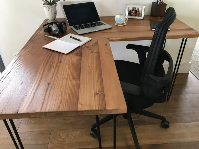 L-Shape Desk -  Custom Made Study Desk