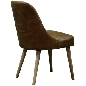 Pia Chair Vintage Leather - back