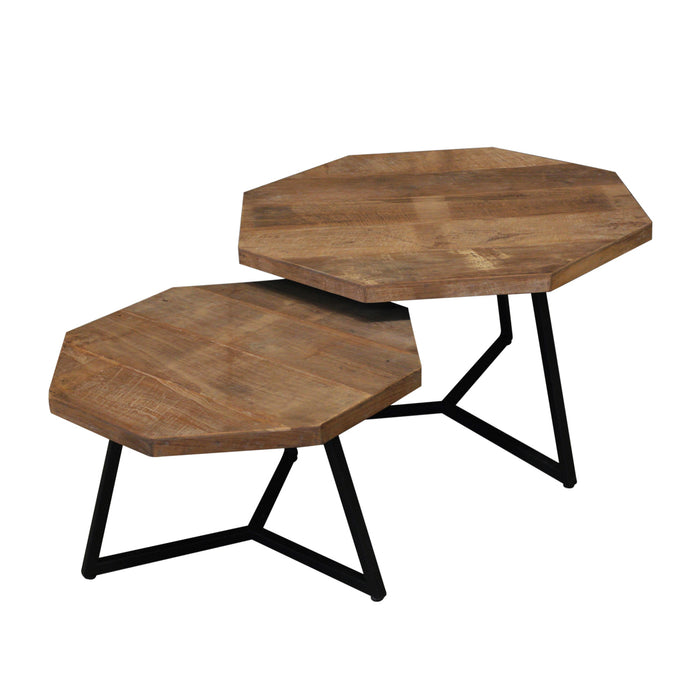 Scandi Hex Coffee Tables top