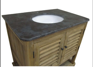 Celeste Single Basin Vanity Unit top