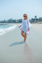 Beach Kaftan - White
