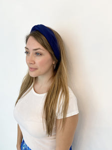 Head Bands - Hand Made - Navy Blue