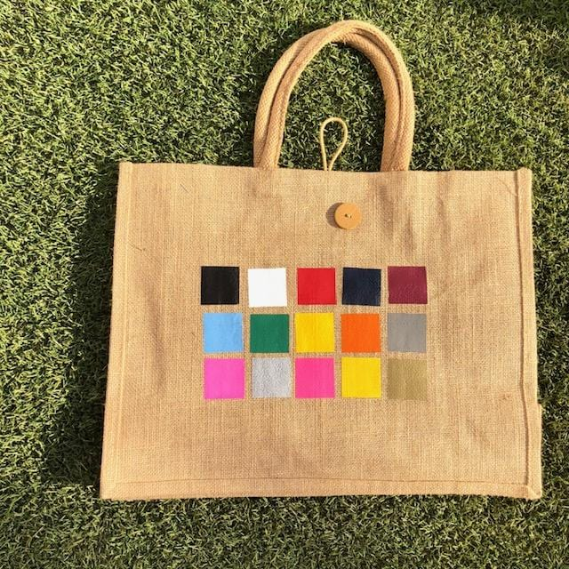 Eco Shopper Bag - GYM print - Available in 14 colours