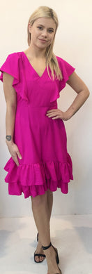 The Weekend Dress - Hot Pink