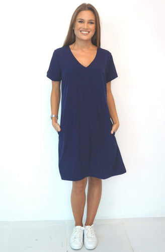 The Anywhere Dress - Perfect Navy