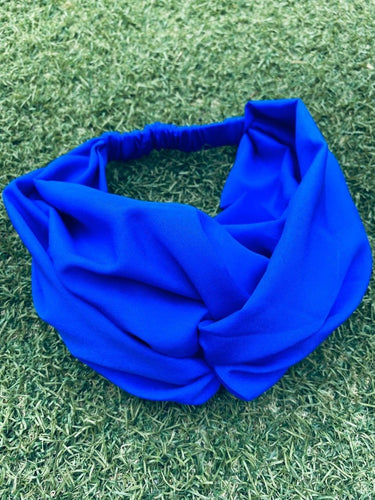 Head Bands - Hand Made - Royal Blue