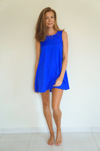 Tunic Dress - Royal Blue
