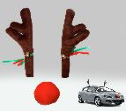 DEAL 3: Christmas Jumbo Car Reindeer Antler Set