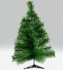 Christmas Pine Needle Tree 1.2m
