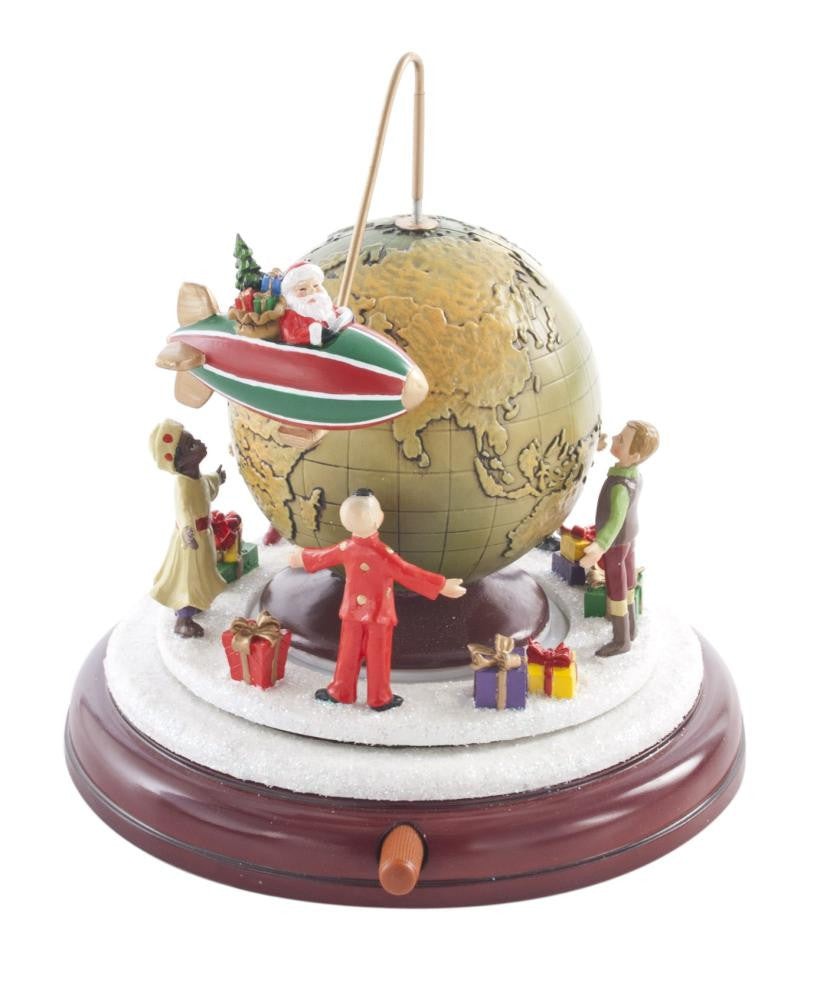 Christmas Around the World Musical Scene 18.5cm