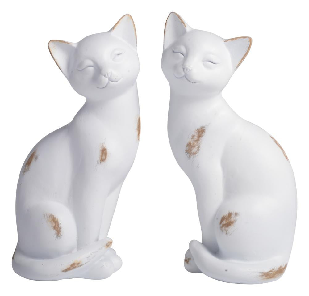 Home Decor Cute White Cats Single Ornament