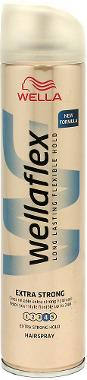 WellaFlex Long Lasting Flexible Hold Hair Spray - Extra Strong  250ml