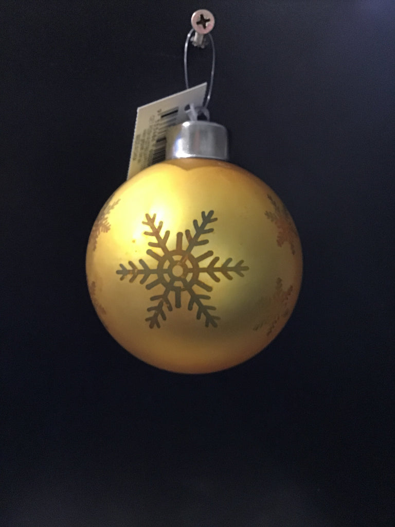 Christmas Bauble Light Up Assorted