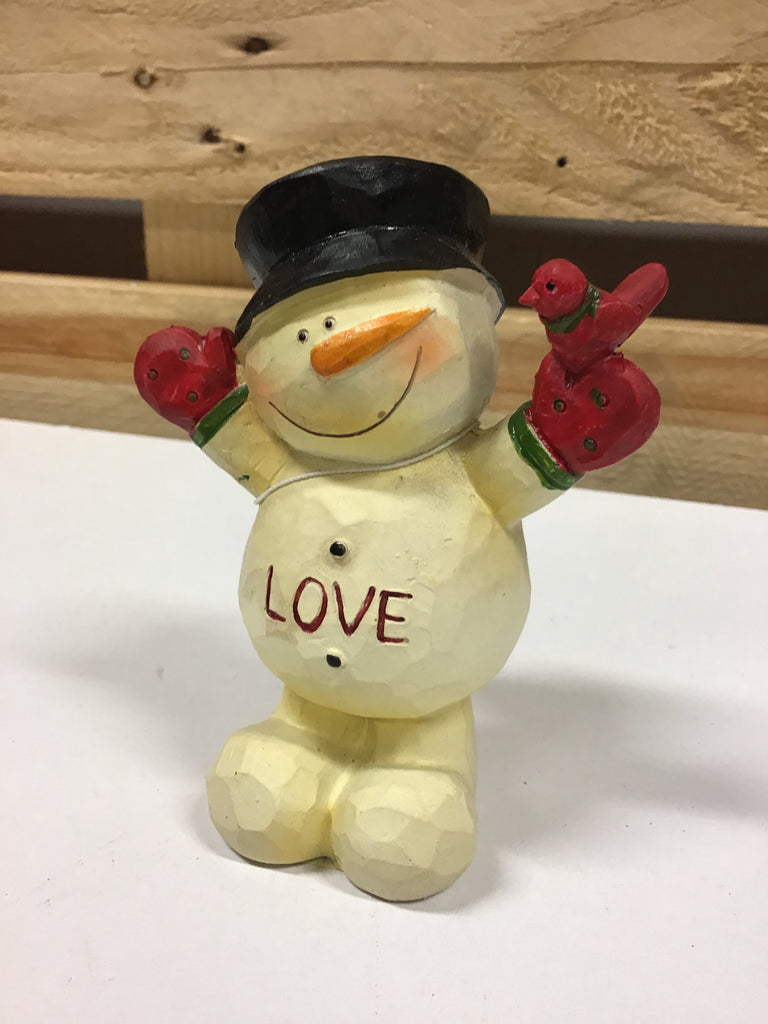 Christmas Snowman Ornament 11cm