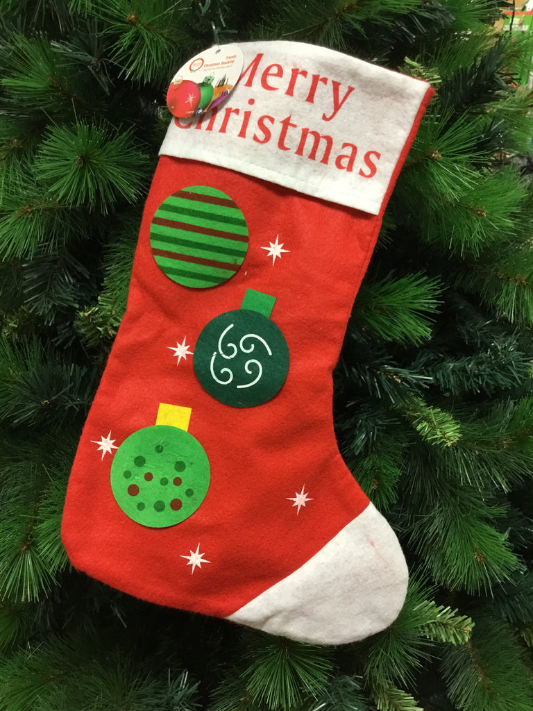 Christmas Trendy Stockings Assorted