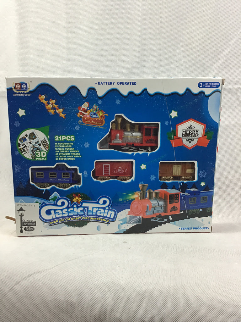Christmas Classic Train Set 21pcs Small