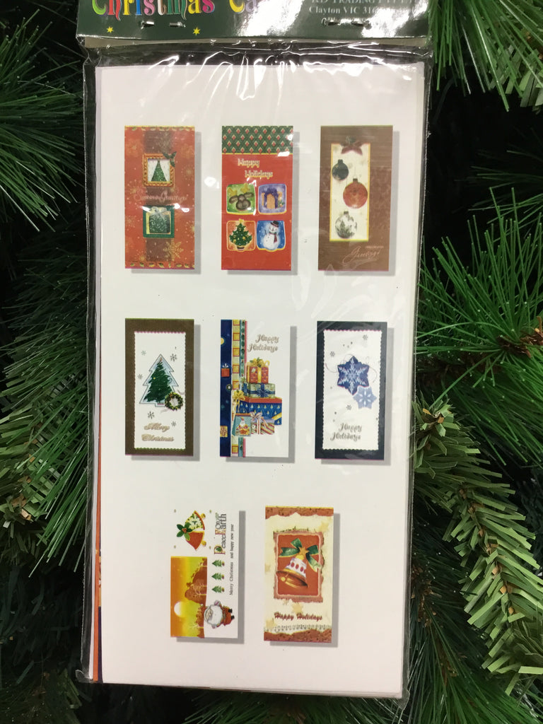 Christmas 16pk Cards with Envelopes