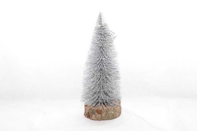 Christmas LED Light Up Tree 23cm Wooden