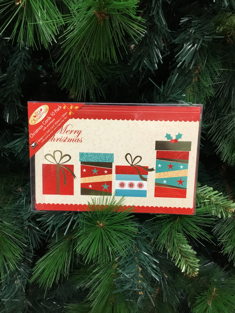 Christmas Traditional Cards 10 pack