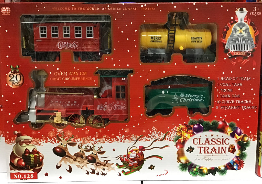Christmas Classic Train Set 20pc 424cm