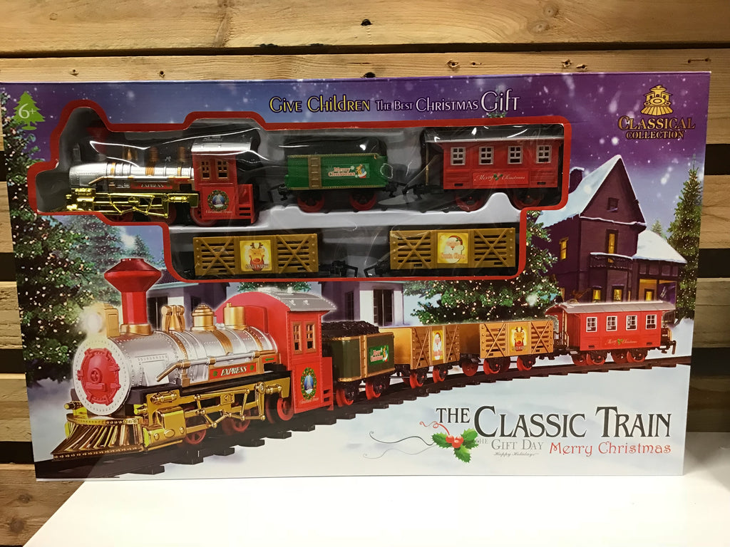 Christmas Classic Train Set 16pcs
