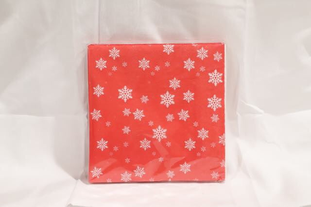 Christmas 20pk Napkins Assorted