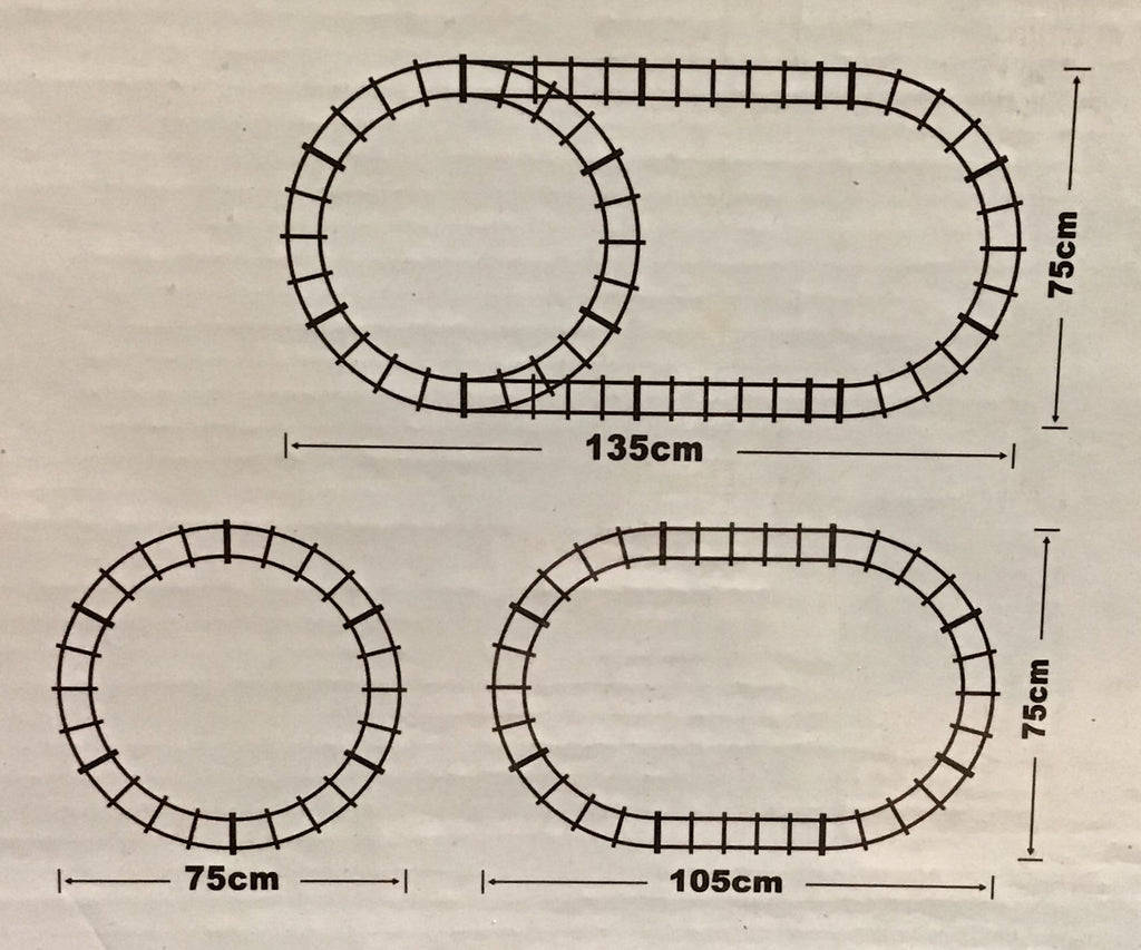 track layout options