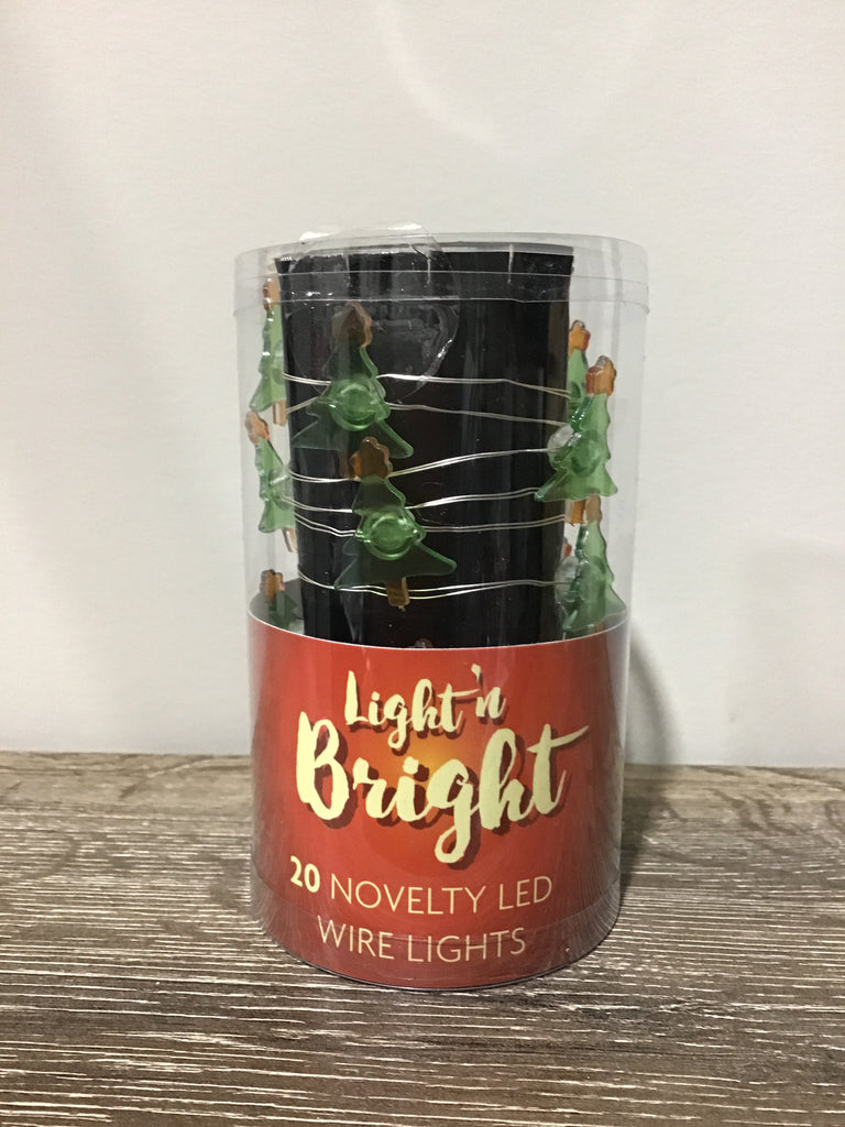 Christmas Lights Battery Operated 20pk Assorted