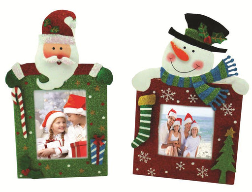 Christmas Decorative Metal Photo Frame Assorted