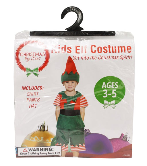 Christmas Elf Kids Costume