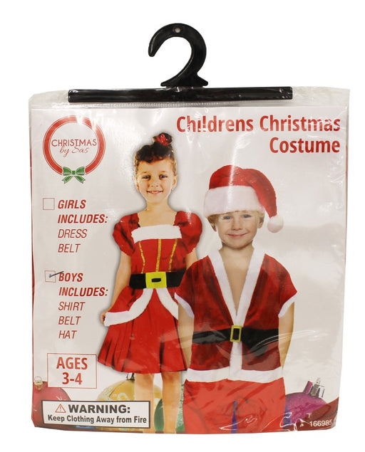 Christmas Kids Costume Set - GIRLS