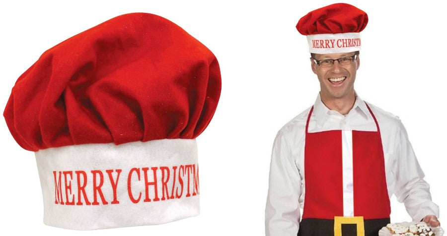 Christmas Novelty Chef Hat