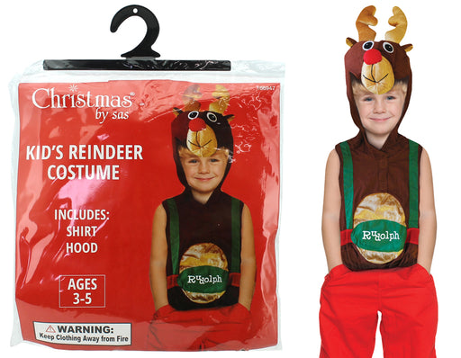 Christmas Kids Reindeer Costume