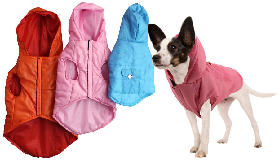 Dog Puffer Jacket with Hood