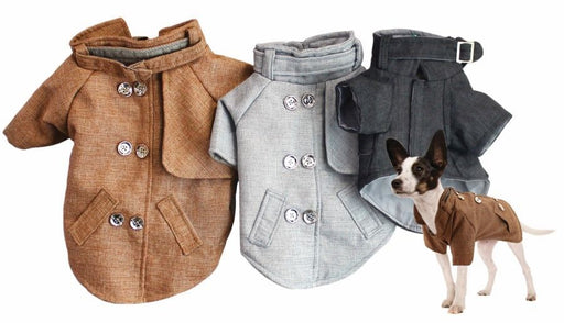 Dog Button-Up Jacket - Assorted Colours!