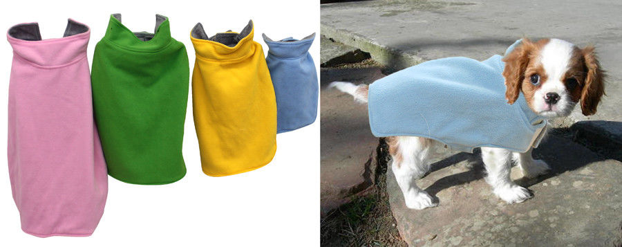 Pet Dog Jumbo Fleece Jacket Overcoat